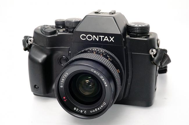 コンタックス RX ボディ - Carl Zeiss Distagon 28mm F2 8 カメラ